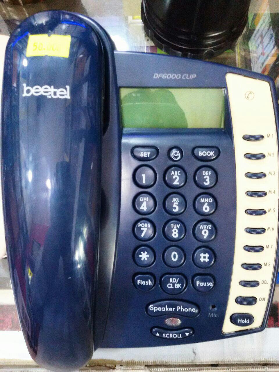 تلفن رومیزی beetel تحت لیسانس امریکا-کانادا مدل  DF6000