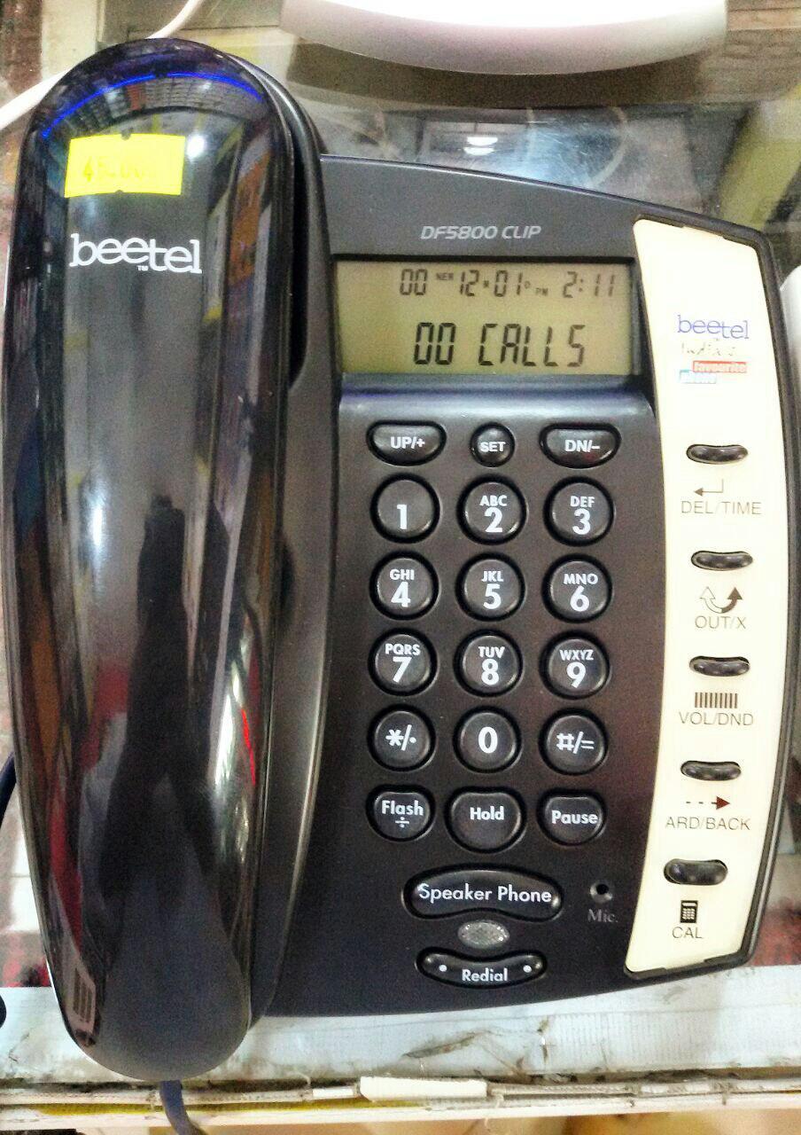 تلفن رومیزی beetel تحت لیسانس امریکا-کانادا مدل  DF5800