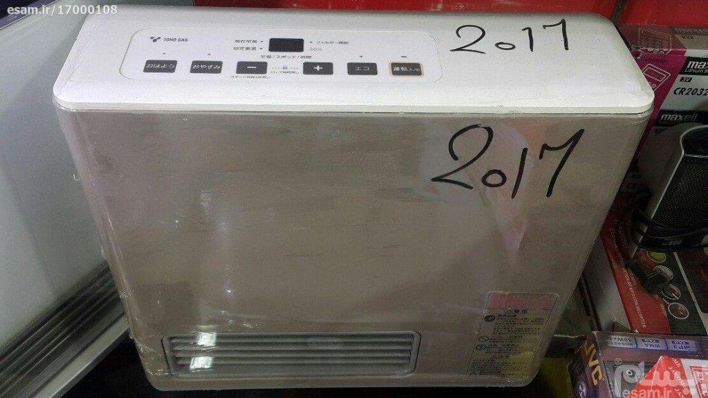 بخاری گازی ژاپنی 2500